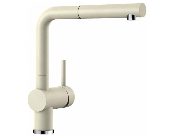 Blanco Linus-S 516693 Eenhendel Keukenkraan Met Uittrekbare Handdouche Silgranit Look Jasmijn