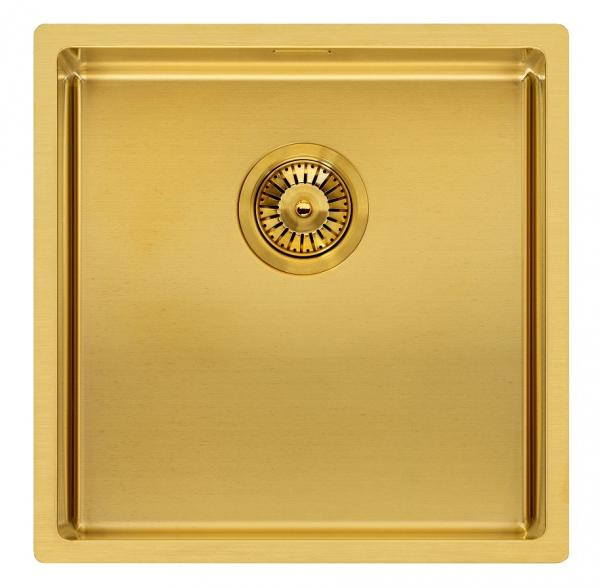 Reginox Miami 40 X 40 Gold Edition R30714 Rvs Spoelbak Vlakbouw Of Onderbouw