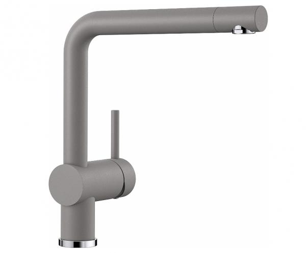 Blanco Linus 516699 Eenhendel Keukenkraan Silgranit Look Aluminium Metallic