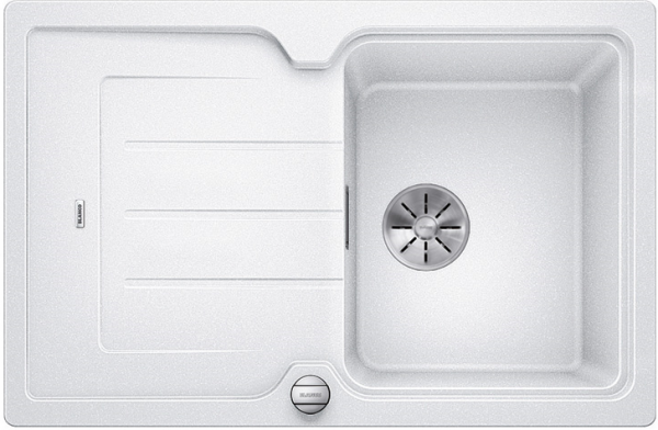 Blanco Classic Neo 45 S 524008 Wit Spoelbak Silgranit Inclusief Draaiknopbediening Inclusief Snijplank Opbouw