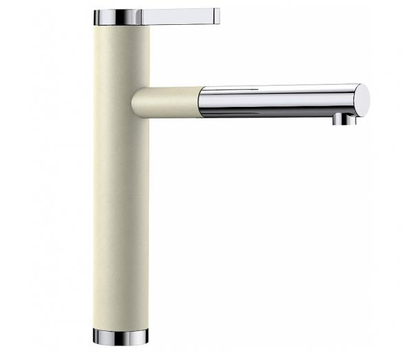Blanco Linee-S 518442 Keukenkraan Met Uittrekbare Handdouche Silgranit-Look Jasmijn