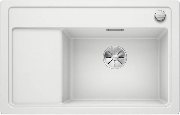 Blanco Zenar Xl 6-S Compact 523768 Wit Spoelbak Silgranit Inclusief Draaiknopbediening Inclusief Snijplank Onderbouw Of Opbouw