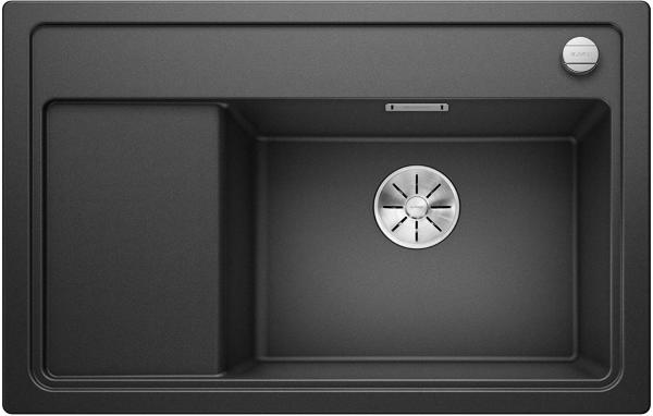 Blanco Zenar Xl 6-S Compact 514676 Antraciet Spoelbak Silgranit Inclusief Draaiknopbediening Inclusief Snijplank Onderbouw Of Opbouw