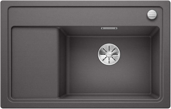 Blanco Zenar Xl 6-S Compact 518860 Rotsgrijs Spoelbak Silgranit Inclusief Draaiknopbediening Inclusief Snijplank Onderbouw Of Opbouw