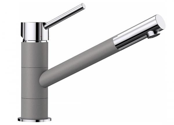 Blanco Kano 525029 Eenhendel Keukenkraan Silgranit Look Aluminium Metallic