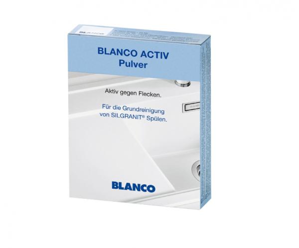 Blanco Active 520784 Reinigings Poeder Speciaal Voor Silgranit Spoelbakken Tegen Vlekken