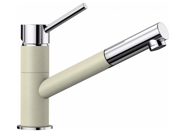 Blanco Kano-S 525041 Eenhendel Keukenkraan Met Uittrekbare Handdouche Silgranit Look Jasmijn