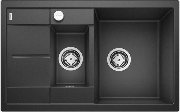 Blanco Metra 6 S Compact 513473 Antraciet Spoelbak Silgranit Inclusief Draaiknopbediening Omkeerbaar Onderbouw Of Opbouw