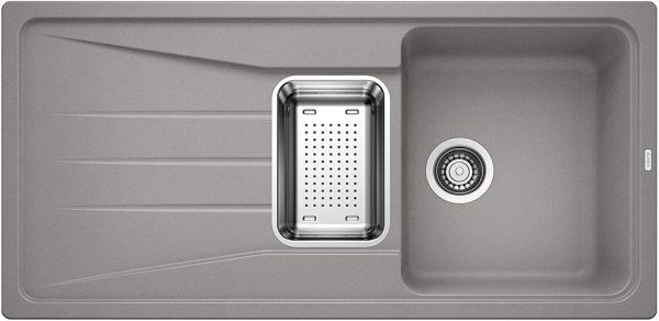 Blanco Sona 6 S 519682 Aluminium Metallic Spoelbak Silgranit Onderbouw Of Opbouw