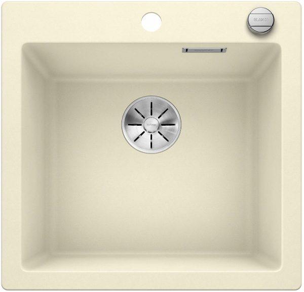 Blanco Pleon 523681 Jasmijn Spoelbak Silgranit Inclusief Draaiknopbediening Opbouw
