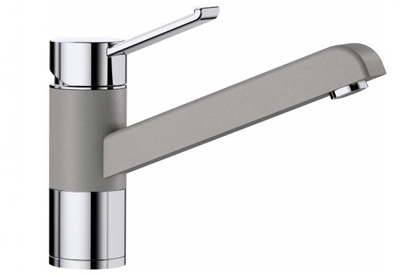 Blanco Zenos 517806 Eenhendel Keukenkraan Silgranit Look Aluminium Metallic
