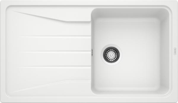 Blanco Sona 5 S 519674 Spoelbak Silgranit Wit Onderbouw Of Opbouw