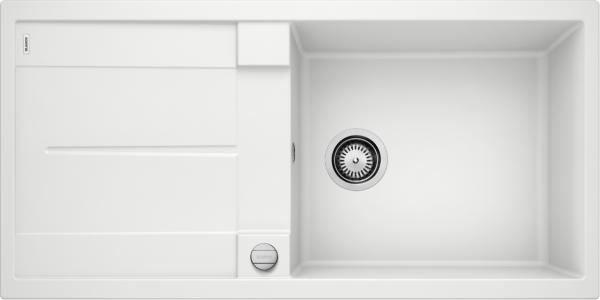 Blanco Metra Xl 6 S 515280 Spoelbak Silgranit Wit Inclusief Draaiknopbediening Omkeerbaar Onderbouw Of Opbouw