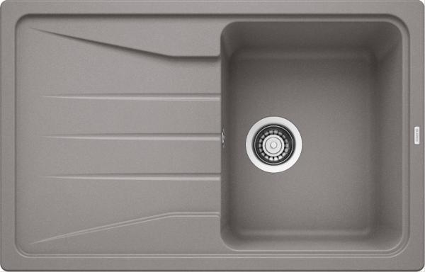 Blanco Sona 45 S 519664 Spoelbak Silgranit Aluminium Metallic Omkeerbaar Onderbouw Of Opbouw