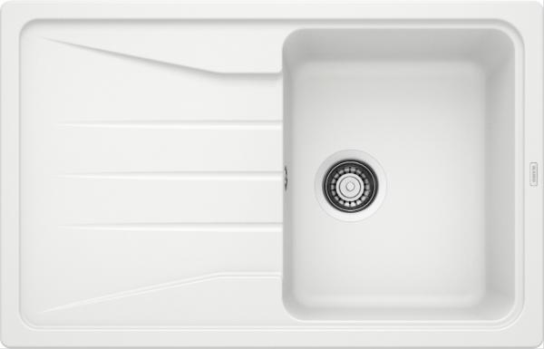 Blanco Sona 45 S 519665 Spoelbak Silgranit Wit Omkeerbaar Onderbouw Of Opbouw