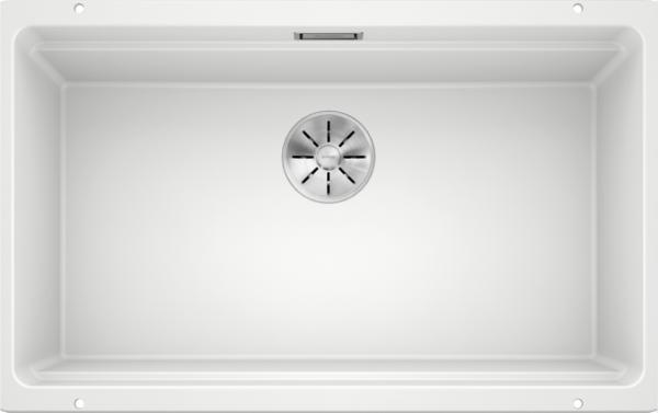 Blanco Etagon 700-U 525171 Spoelbak Silgranit Wit Inclusief Rails Onderbouw