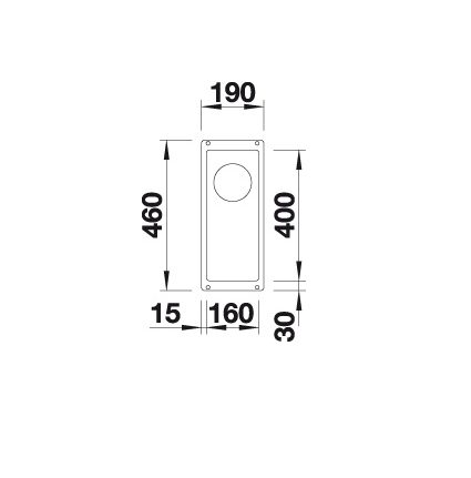 Blanco Subline 160-U 523403 Spoelbak Silgranit Tartufo Onderbouw