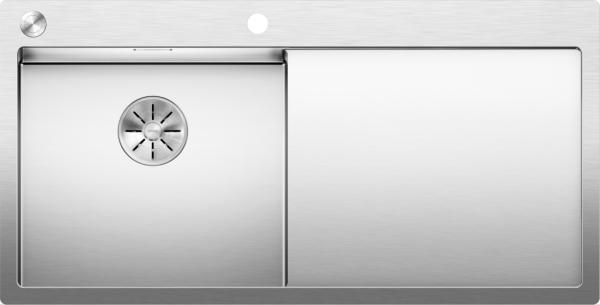Blanco Claron 5 S-If 521626 Keukenpoelbak Links Rvs Inclusief Pushcontrol Bediening Vlakbouw Of Opbouw
