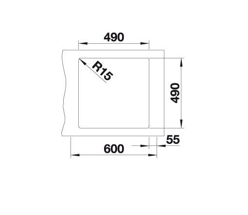 Blanco Artago 6 If/a 521766 Spoelbak Silgranit Antraciet Vlakbouw Of Opbouw