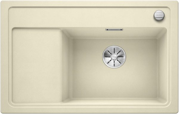 Blanco Zenar Xl 6-S Compact 523767 Jasmijn Spoelbak Silgranit Inclusief Draaiknopbediening Inclusief Snijplank Onderbouw Of Opbouw
