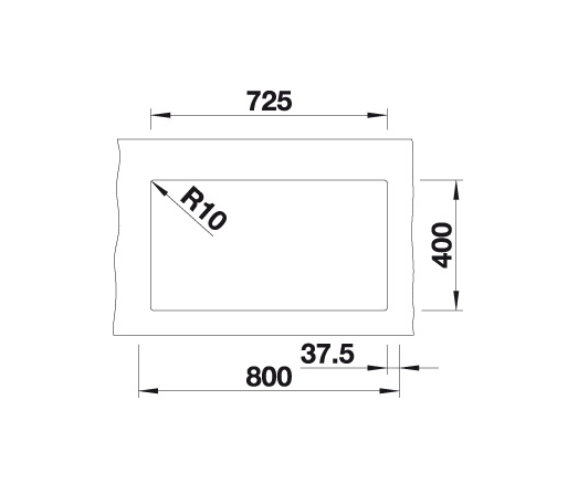 Blanco Subline 350/350-U 523578 Dubbele Spoelbak Silgranit Wit Onderbouw