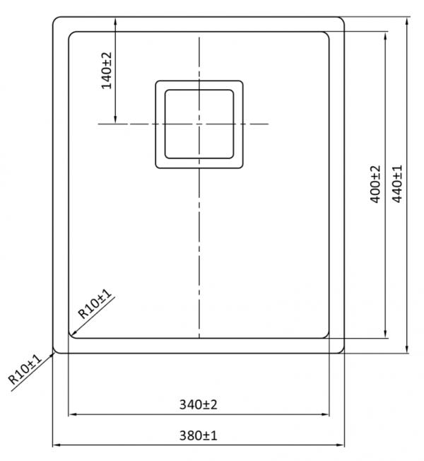 Lorreine 34Vk Rvs Spoelbak Kantelbare Korfplug Onderbouw-Vlakbouw-Opbouw