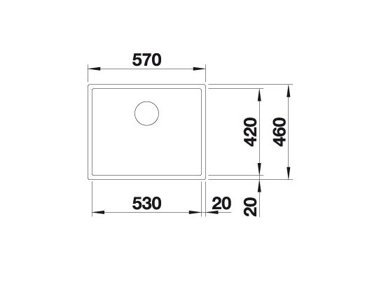 Blanco Claron Xl 60-If Steamerplus 521595 Spoelbak Rvs Vlakbouw Of Opbouw