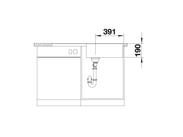 Blanco Metra Xl 6 S-F 518883 Spoelbak Silgranit Rotsgrijs Inclusief Draaiknopbediening Omkeerbaar Vlakbouw Of Onderbouw