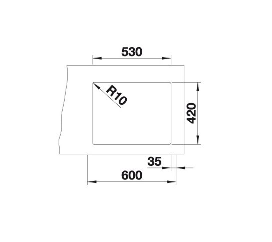 Blanco Claron Xl 60-U Steamerplus 521596 Spoelbak Rvs Onderbouw