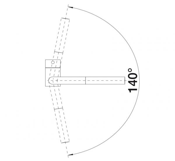 Blanco Linus-S Vario 518406 Eenhendel Keukenkraan Chroom Met Uittrekbare Handdouche