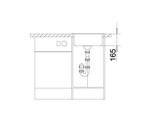 Blanco Rondo 511621 Spoelbak Rond Silgranit Wit Onderbouw Of Opbouw