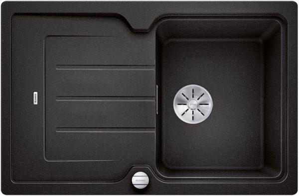 Blanco Classic Neo 45 S 523955 Antraciet Spoelbak Silgranit Inclusief Draaiknopbediening Inclusief Snijplank Opbouw