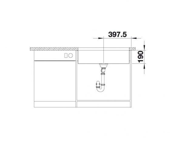 Blanco Cronos Xl 8-U 523380 Rvs Spoelbak Onderbouw