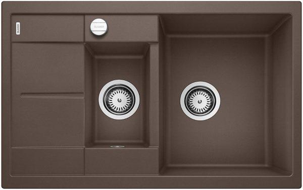Blanco Metra 6 S Compact 515044 Café Spoelbak Silgranit Inclusief Draaiknopbediening Omkeerbaar Onderbouw Of Opbouw
