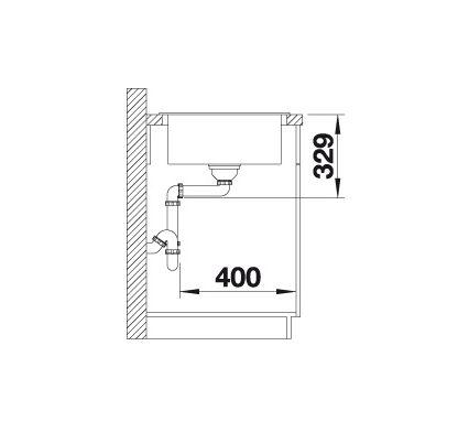 Blanco Sona Xl 6 S 519696 Spoelbak Silgranit Tartufo Onderbouw Of Opbouw