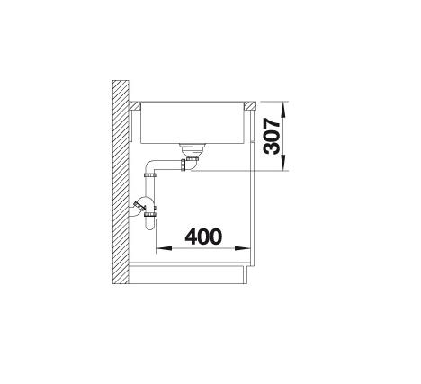 Blanco Axia Iii Xl 6 S-F 523526 Spoelbak Silgranit Antraciet Inclusief Draaiknopbediening Inclusief Glazen Snijplank Omkeerbaar Vlakbouw Of Onderbouw