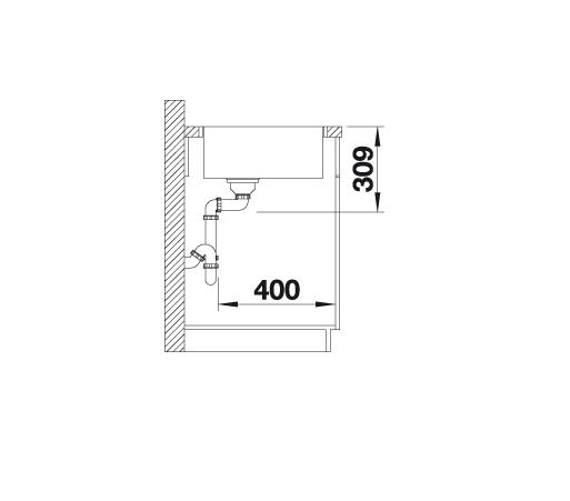 Blanco Artago 6 If/a 521767 Spoelbak Silgranit Wit Vlakbouw Of Opbouw