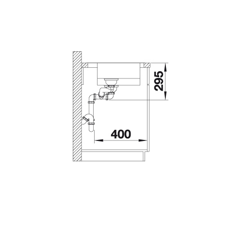 Blanco Divon Ii 6-S-If 521662 Anderhalve Spoelbak Rechts Rvs Inclusief Draaiknopbediening Vlakbouw Of Opbouw