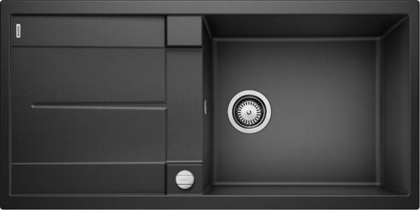 Blanco Metra Xl 6 S 515286 Spoelbak Silgranit Antraciet Inclusief Draaiknopbediening Omkeerbaar Onderbouw Of Opbouw