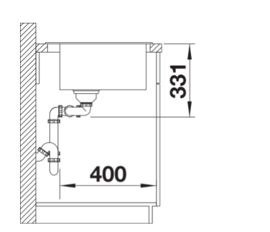 Blanco Pleon 6 Split 525307 Silgranit Betonlook Anderhalve Spoelbak Inclusief Draaiknopbediening Opbouw Of Onderbouw