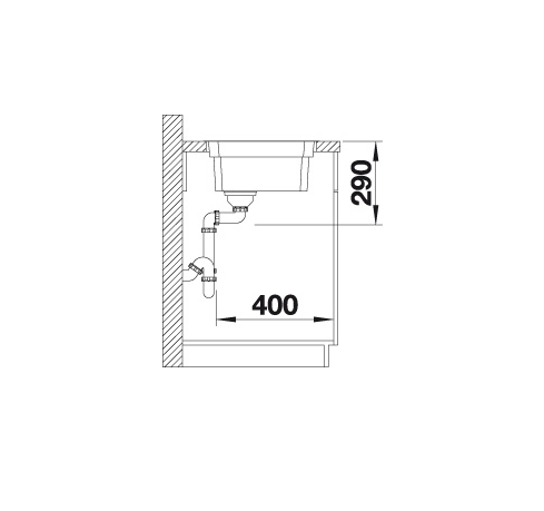 Blanco Etagon 500-If 521840 Spoelbak Rvs Inclusief Rails Vlakbouw Of Opbouw
