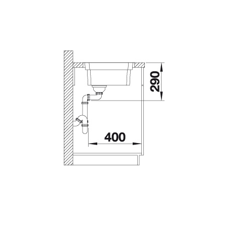 Blanco Etagon 700-If 524272 Spoelbak Rvs Inclusief Rails Vlakbouw Of Opbouw