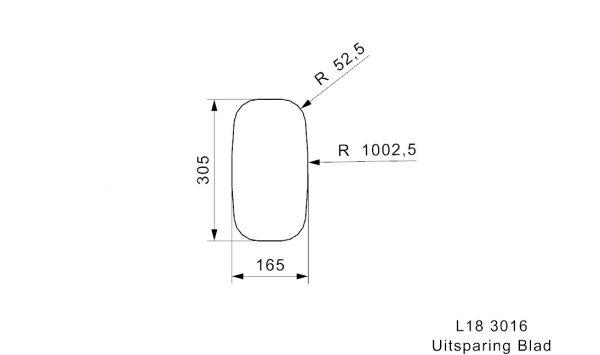 Reginox L18 Spoelbak Vlakbouw Of Onderbouw