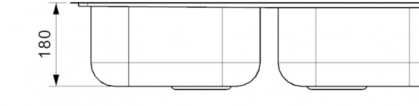 Reginox Centurio 30 Rvs Spoelbak Omkeerbaar Vlakbouw