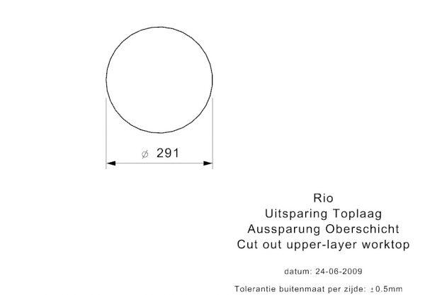 Reginox Rio Spoelbak Vlakbouw Of Onderbouw