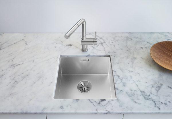 Blanco Zerox 340-U Durinox 521556 Spoelbak Rvs Onderbouw
