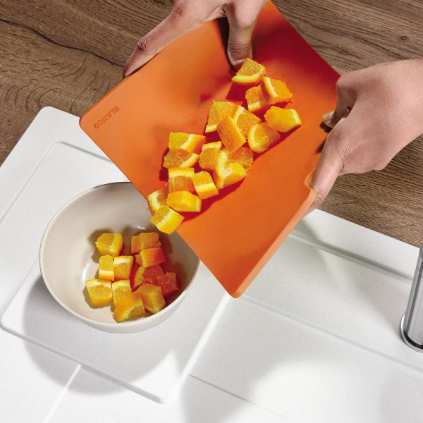 Blanco 236719 Sity Pad Flexibele Snijplank Orange
