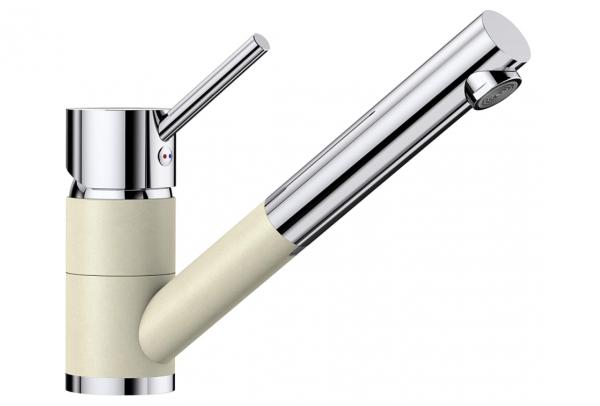 Blanco Antas-S 515351 Eenhendel Keukenkraan Met Uittrekbare Handdouche Silgranit Look Jasmijn