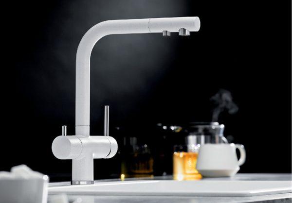 Blanco Fontas Ii 523128 Eenhendel Keukenkraan Met Filtersysteem Chroom