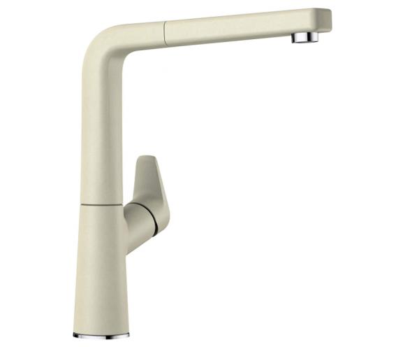 Blanco Avona-S 521281 Eenhendel Keukenkraan Met Uittrekbare Handdouche Silgranit Look Jasmijn